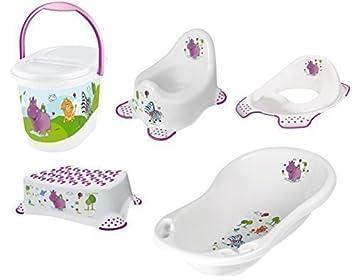 okt kids set di accessori da bagno per neonati vasca per il bagnetto