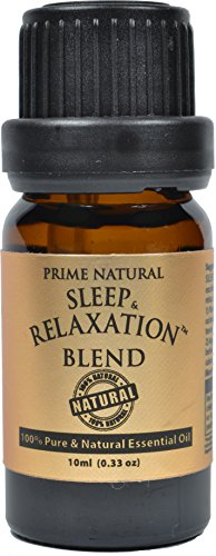 Sleep & Relaxation Essential Oil Blend 10ml - 100% Natural Pure Undiluted Therapeutic Grade for Aromatherapy Scents & Diffuser - Good Natural Sleep Aid , Depression Stress Anxiety Relief