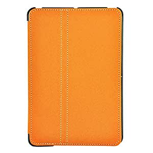 Stand Leather Case for iPad mini And Pen Can Be Inserted(Pen Not Included) , Blue