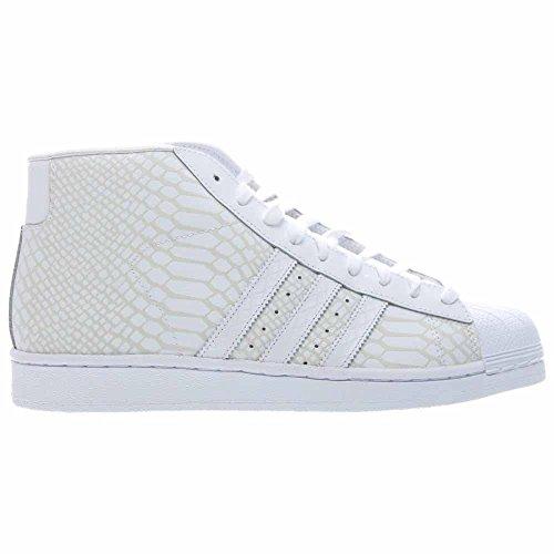 Adidas Herre Pro Model Hvid / Grå Læder K13HLgkE