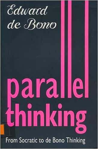 Parallel Thinking. From Socratic Thinking to de Bono Thinking ...