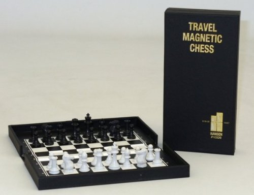 World Wise Pocket Travel Magnetic Chess - Road Wallet Checkbook
