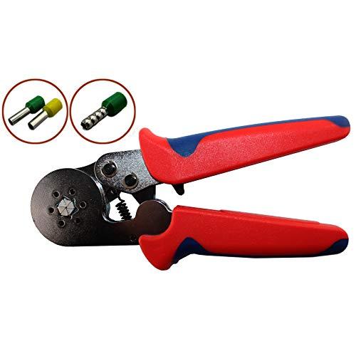 Hexagonal Crimper,Knoweasy Crimpers Ferrel Crimping Tool Used For 23-10 AWG Mm2