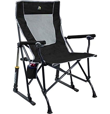 Superbe GCI Outdoor RoadTrip Rocker Chair (Black)