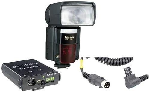 Nissin di866ii Digital Flash para Nikon Digital SLR & Coolpix cámaras de zapata – Bundle – con Quantum Turbo SC Slim Compact recargable Cable Pack & Quantum de alimentación ck-e2 para Turbo