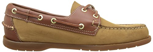 Scarpe Tan Uomo Marrone da Nubuck Leather Barca Sebago Endeavor UOqTOp
