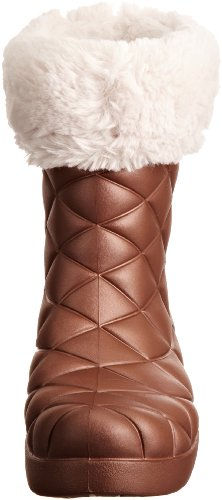 crocs Super Molded Cuffed Puff Boot Women 12514-02S-500 - Botines fashion para mujer Marrón (Braun (Bronze/Oyster))