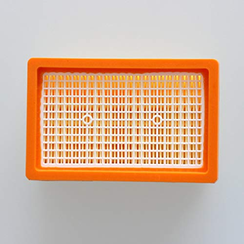 Flat Filter Element For Karcher MV4 MV5 MV6 Vacuum Cleaner Durable Replacement Filter Strainers Portable Vacuum Cleaner Parts...
