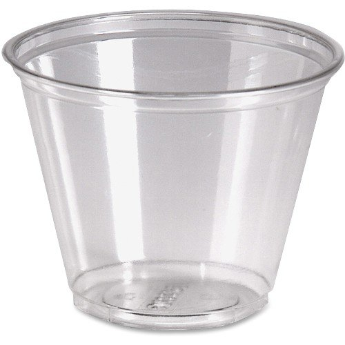 Dixie Crystal Clear Cup (Dixie(R) Crystal Clear Plastic Cups, 9 Oz., Box Of 50)