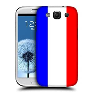 NICE CASE Flag of France Style 4 Snap-on Hard Back Case Cover for Samsung Galaxy S3 (i9300) by ruishername