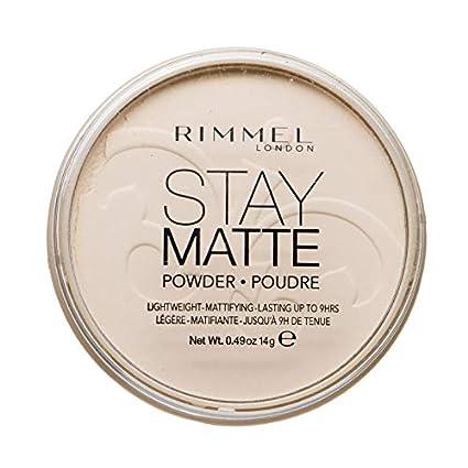 grandes variétés tout neuf acheter mieux Rimmel London Stay Matte Long Lasting Pressed Powder, Transparent [001]  0.49 Ounce (Pack of 1)