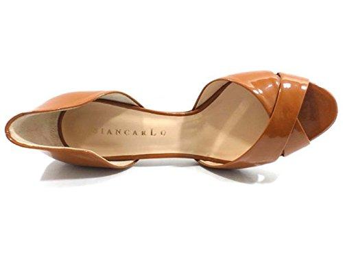 Chaussures Femme GIANCARLO 36 EU Escarpins chamois cuir AX11