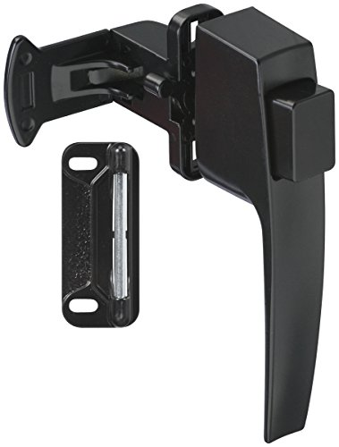 Stanley Hardware S124-943 CD1782 Light Duty Pushbutton Latch in Black Coated by Stanley Hardware