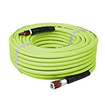 "Flexzilla HFZ14100YW2-D Industrial Plug & CCX Coupler, 1/4"" x 100'"