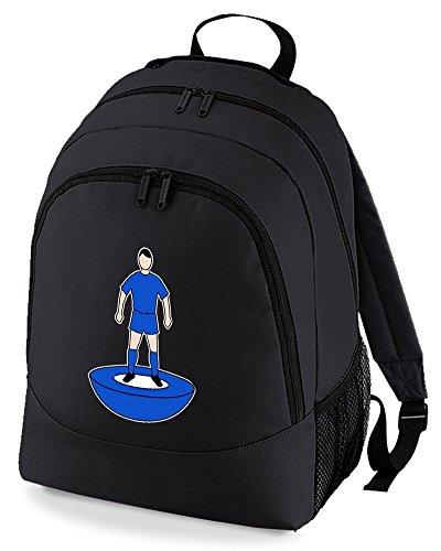 Supporter Rucksack Favourite Black Backpack Football Bag Colours Unisex Team Kit AwAHvWqxI7
