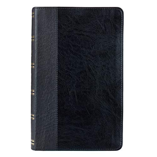 KJV Holy Bible, Giant Print Standard Bible, Black