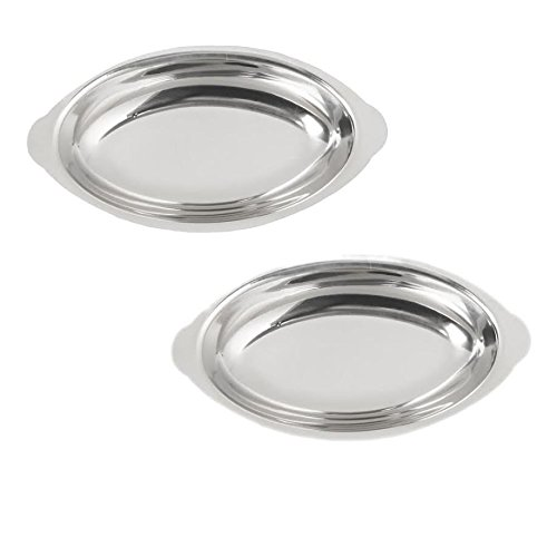 Stainless Steel Scoups Set of 2 12OZ by Update International