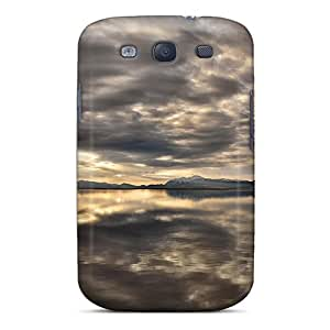 Cute Appearance Cover/tpu Iys6322bERM Reflection Of Grey Case For Galaxy S3