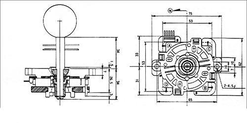 easyget led arcade diy parts 2x zero delay usb encoder