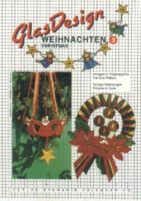 GlasDesign Christmas 3 Stained Glass Pattern Book