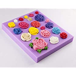 Tasty Molds Roses Collection Silicone Fondant Mold