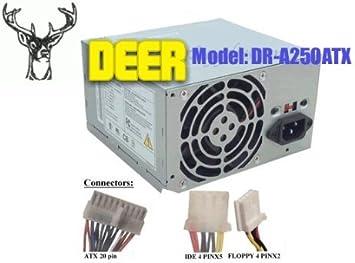 FSP300-60BT AOpen ATX-250N ANTG AT-250S ATX145-3485, Allied AL-A300ATX FSP250-60GTA Apollo VT-300BA Astec ATX250-3505 ATX-250GU FSP250-60GTW AGI HEC-300AR ATX-300GU 300W Power Supply for Achieve AX300WN//P4 Antec PP-303X AL-A350ATX HEC-300AR-T