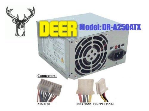 ATX-300GU 300W Power Supply for Achieve AX300WN/P4, AGI HEC-300AR, HEC-300AR-T, Allied AL-A300ATX, AL-A350ATX, Antec PP-303X, ANTG AT-250S, AOpen ATX-250N, ATX-250GU, FSP300-60BT, FSP250-60GTW, FSP250-60GTA, Apollo VT-300BA, Astec ATX250-3505, ATX145-3485, ATX145-3505, SA320-3525, SA302-3515, Bestec ATX-250-12Z, ATX-250-12Z Rev D2, ATX-250-12ZD, ATX-250-12ZD 2R, ATX-250-12E, Cinch AT-250S, Compaq 5187-1099, 0950-3374, 5187-1098, 0950-3523, 152769-001, 153652-001, AF000151, D3936-69003, DPS-200PB-103 E, DPS-200PB-74 B, DPS-200PB-89 G, PW-230ATX, X-145C, Presario SR1410NX, Deer DR-300ATX, DR-250ATX, DR-A250ATX, LC-250ATX, DR-A300ATX, DR-B300ATX, Delta DPS-300BB-1F, GPS-300AB-200D, DPS-300KB-1A, DPS-200PB-89 G, DPS-200PB-90 G, GPS-350AB-200E