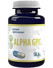 Alpha GPC 250 mg 60 Veganskapslar Biotillgänglig kolin, nootropisk, för minne, koncentration och fokus, dopamin och serotoninbildning