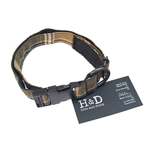Hide & Drink Dog Collar for Small - Medium Dogs  Handmade Pl