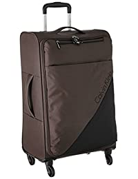 Calvin Klein Chelsea 25-Inch Upright Suitcase, Tobacco, One Size