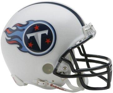 Tennessee Titans Mini Helmet (Riddell NFL Replica Mini Helmet with Z2B Facemask)