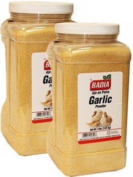 Badia Garlic Powder 4 lbs Pack of 2