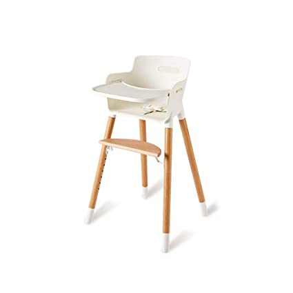 Amazon.com: XHHWZB Stackable Wooden Baby Highchair High Chair Home ...