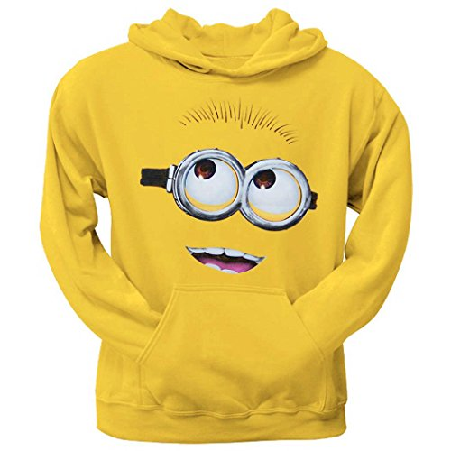 Despicable Me Minion Face Hoodie-Large ()