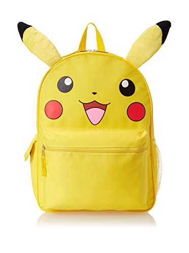 Pokemon Zoofy Pikachu Face with ears Backpack