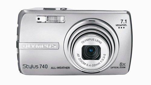 Olympus Stylus 740 7.1MP Digital Camera with Digital Image S