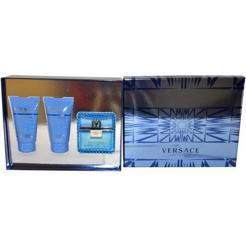 Versace Man Eau Fraiche Gift Set by Versace for Men
