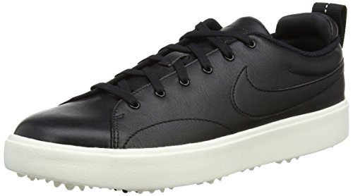 (Nike Men's Course Classic Golf Shoes (Medium) (10 M, Black/Sail))