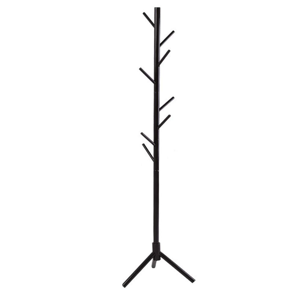 B 4646176cm Coat Rack Coat Rack Stand,Coat Rack Coat Hat Stand Garment Rack, Wood Tripod Chassis Floor-Standing Coat Rack, Multifunction Office Bedroom Living Room,C,46  46  176cm