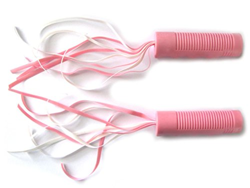 "Pair of Hand Grips w/Streamers for Radio Flyer Tricycle, 3/4"" (Pink, Pair)"