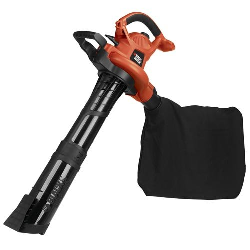 BLOWER VAC WITH DISPOSABLE BAG BLACK & DECKER LAWN Blowers/V