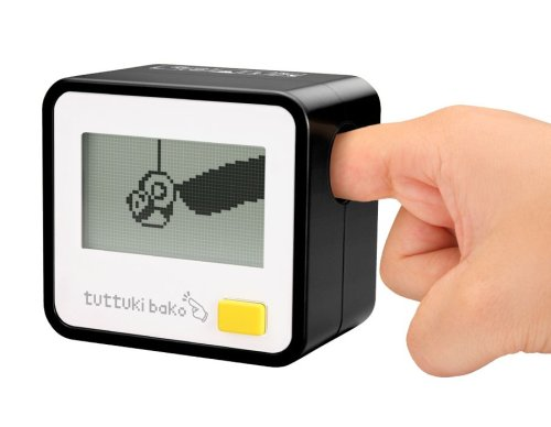 Bandai Tuttuki Bako Virtual Finger Game (Black)