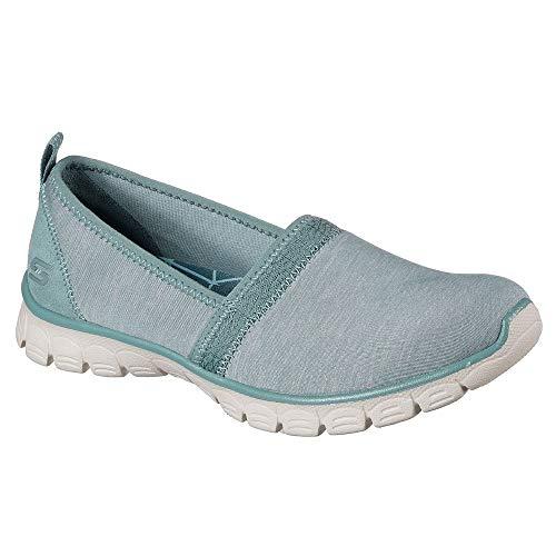 Skechers Ez Flex 3.0 Swift Motion Womens Slip On Sneakers,Sage,7