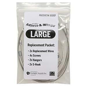 Large Adjust-A-Wing Hardware Pack