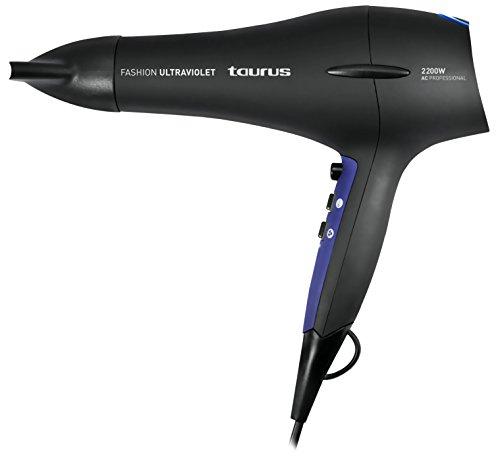 Taurus Fashion Ultraviolet - Secador de pelo profesional (2000 W, 2 velocidades, 3 temperaturas): Amazon.es: Salud y cuidado personal