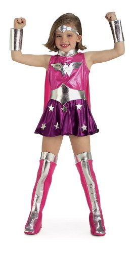Bad Guy Superhero Costumes (DC Comics Wonder Woman Child's Costume)