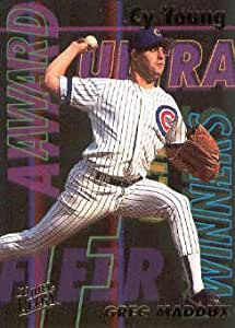 1993 Fleer Ultra Baseball Award Winners #22 Greg Maddux Cy Young Chicago Cubs MLB Trading Card
