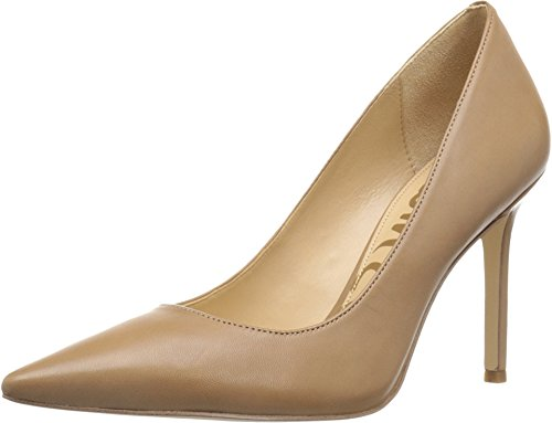 Sam Edelman Women's Hazel Golden Caramel Dress Calf Leather Pump 12 M (Caramel Calf Leather)