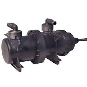 Beckett uv filter 9 watt bulb in line for In line pond filter