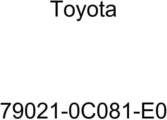Toyota Genuine 79021-0C081-E0 Seat Cushion Cover Sub Assembly